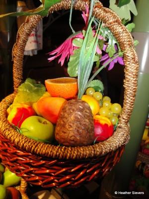 "Tropical ""Fruit"" Basket"