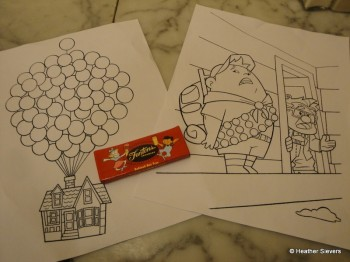 """Up"" Coloring Sheets for the Kids - Love These!"