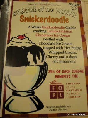 Sundae of the Month: Snickerdoodle