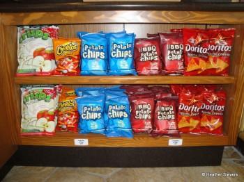 Assorted Chips & Apple Crisps