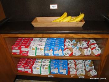 Bananas & Assorted Dry Cereals