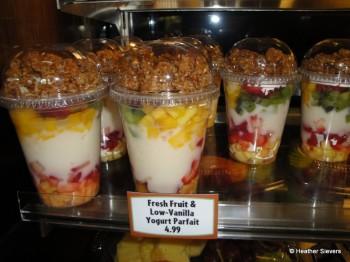 Fresh Fruit & Yogurt Parfait