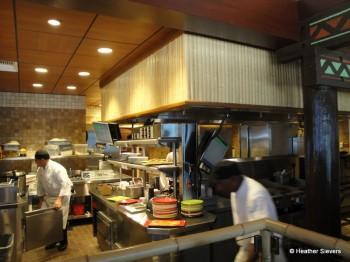 The Kitchen Provides Food for Trader Sam's & Orders Placed at the Pool as Well