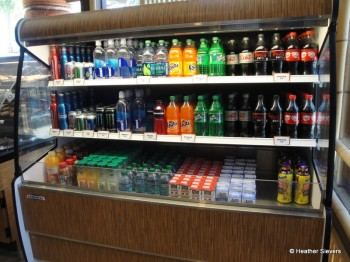Beverage Options (Fountain Drinks Also Available)