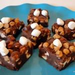 Recipe: Chocolate Peanut Butter Marshmallow Squares