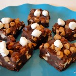Recipe: Chocolate Peanut Butter Marshmallow Squares