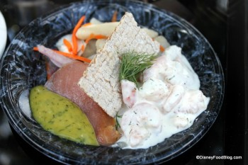 Taste of Scandinavia — Shrimp Salad, Cured Salmon and Herring