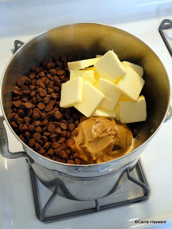 Disney Chocolate Peanut Butter Marshmallow Squares