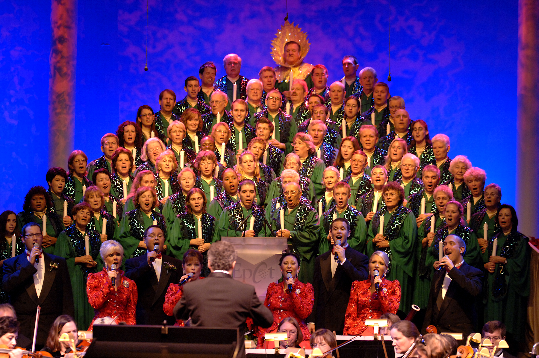 Disney world candlelight processional dining package the disney food