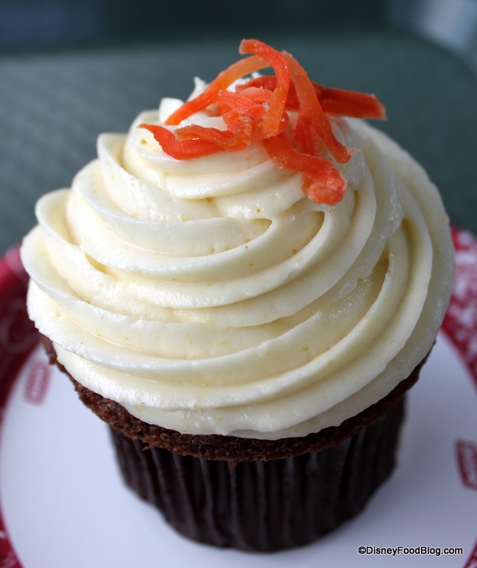 Images Of Carrot Cake Cupcakes : Disney Carrot Cake Review the disney food blog