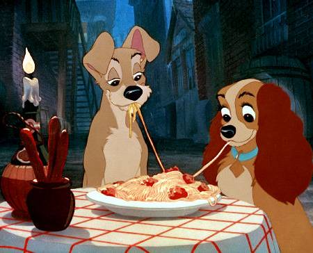 Lady and the Tramp Spaghetti and Meatballs Recipe  the disney