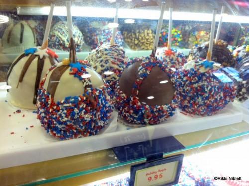 patriotic apples Walt Disney World