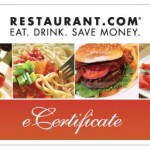 80% Discount on Disney World Restaurant Gift Certificates for a Limited Time