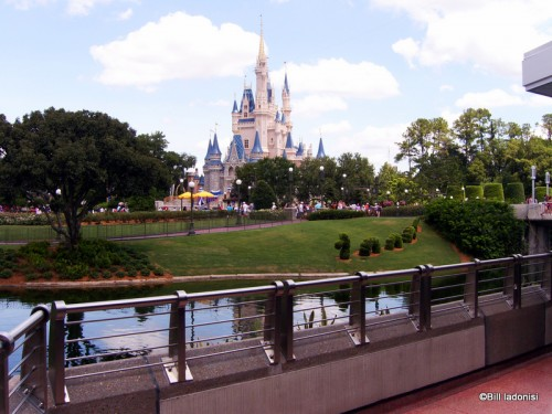 Breathtaking view from Tomorrowland Terrace seating