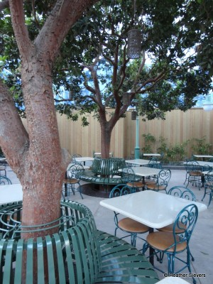 Open Air Seating