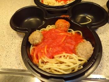Children's Spaghetti with Turkey Meatballs