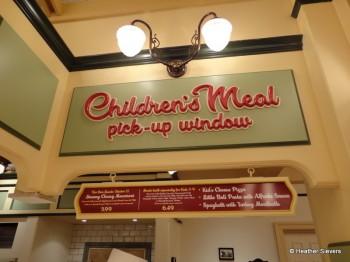 Children's Meal Station