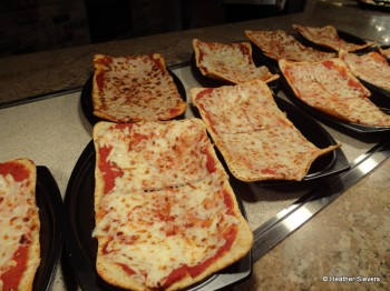 Cheese Flatbread Pizza