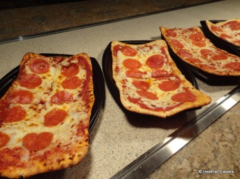 Pepperoni Flatbread Pizza