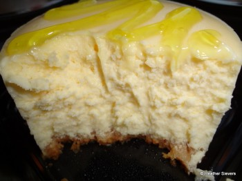 Limoncello Cheesecake Close Up