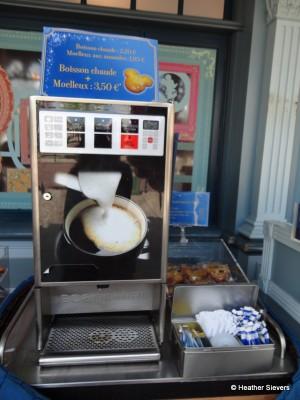Coffee Stand on Main Street