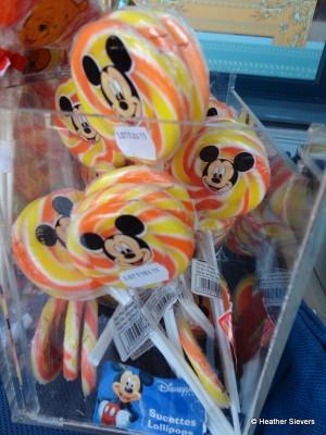 Mickey Lollipops
