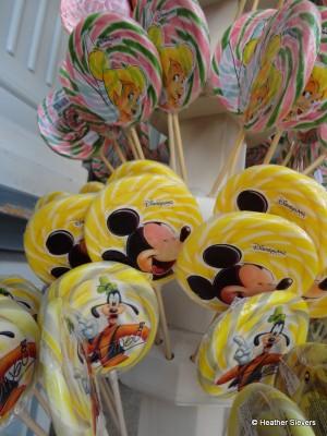 Tink, Mickey & Goofy Lollipops