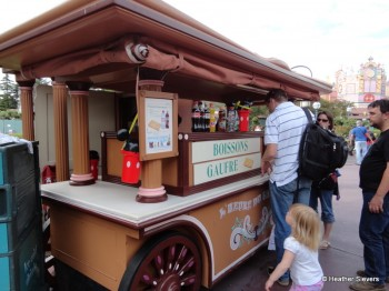 The Waffle Stand (The smell was amazing!)