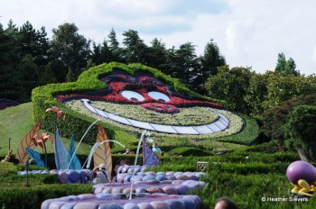 """""""Alice's Curious Labrynth"""" (a fun maze featuring Alice's adventures in Wonderland"""""""