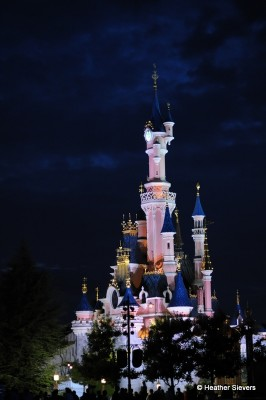 And, finally, the Castle at night. What an amazing day!