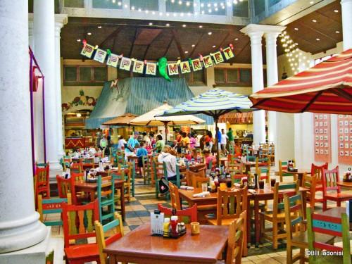Dining Area in Pepper Market