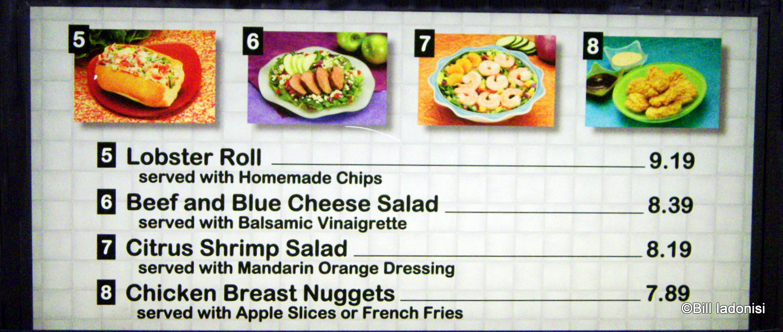 Guest review tomorrowland terrace restaurant the disney for Terrace restaurant menu