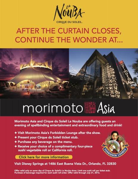 Morimoto Asia Cirque du Soleil Promo