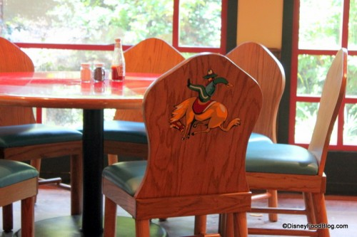 Cowboys and Indians on the Back of Chairs