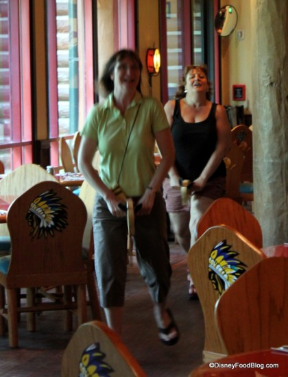 Hobby Horse Race at Whispering Canyon Cafe