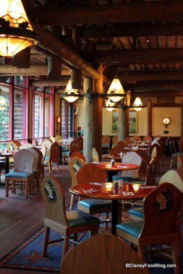 Review Whispering Canyon Cafe At Wilderness Lodge The