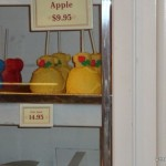 Dining in Disneyland: New Belle Caramel Apples