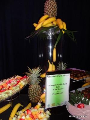 "Loved this ""floating"" banana display!"