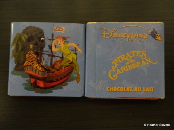 Pirates of the Caribbean Chocolate Square