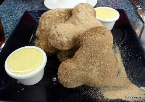 Gingerbread Mickey Beignets are Served Seasonally