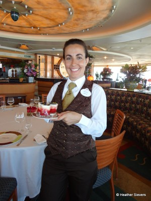 Maria, One of Palo's 8 Super Star Servers