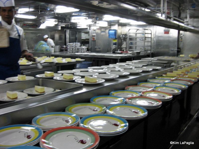 Disney Cruise Line Backstage In The Kitchen The Disney Food Blog - Cruise ship kitchen