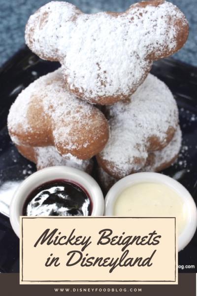 Mickey Beignets in Disneyland