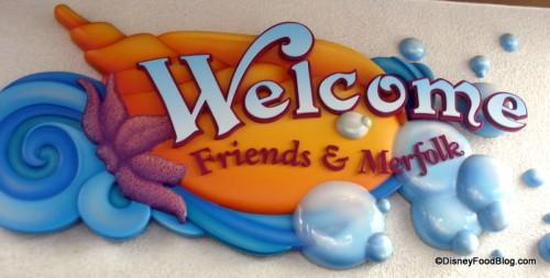 Ariel's Entrance