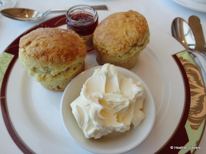 Restaurant booths - Scones Amp Clotted Cream W Strawberry Jam The Disney Food Blog