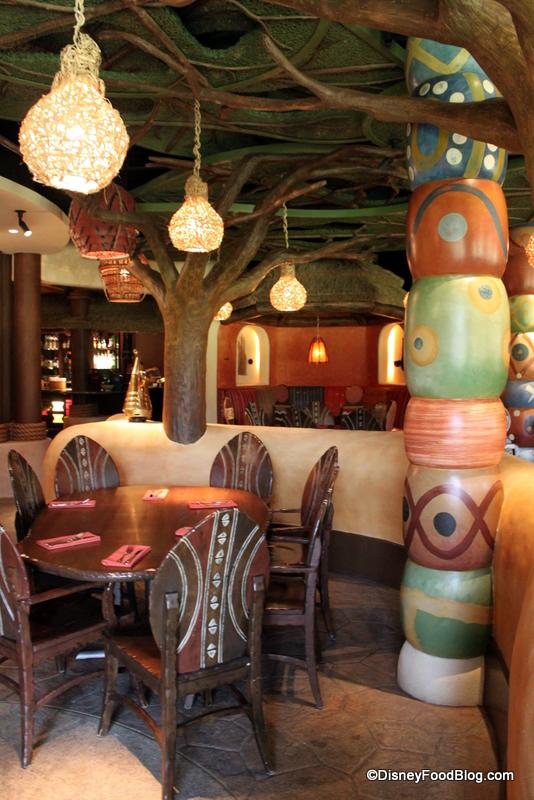 free tours at animal kingdom lodge restaurants the disney food blog