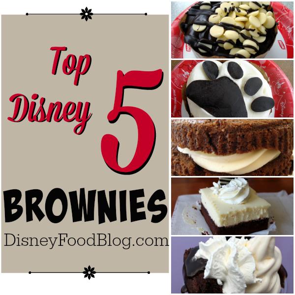 Top 5 Disney Brownies
