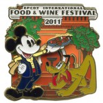 More 2011 Epcot Food & Wine Festival Pins