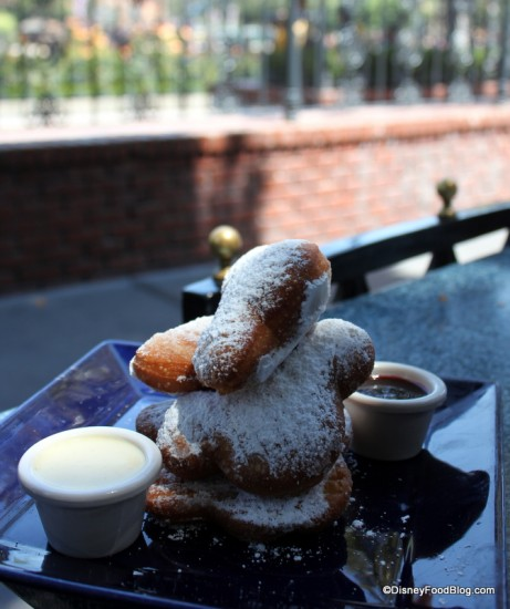 Mickey Beignets with a View!