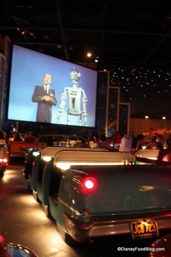 Car and Movie Reel -- Walt